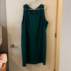 Lane Bryant Size 22 Green Dress